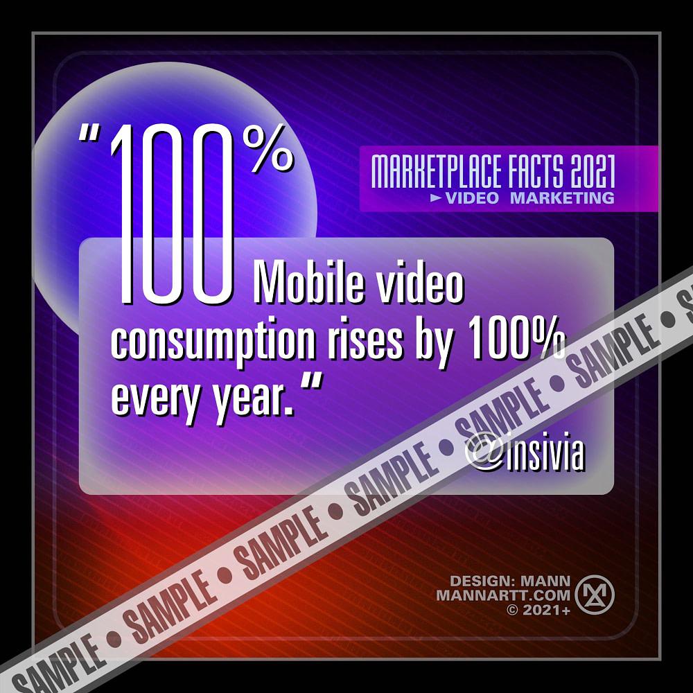 Sample of Mann's social media memes - Marketplace Facts 2021 - Video Marketing