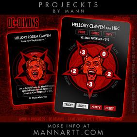 One of the DC*Demons: Hellory Rodem Clawem
