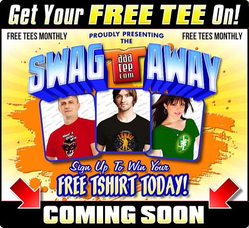 Swagaway Sweepstakes 2020 promo AAATEE.com art