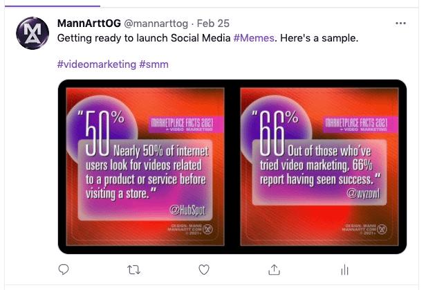 Social Media Memes -FREE- 2021 Digital Video Marketing Stats – Stunning! 8