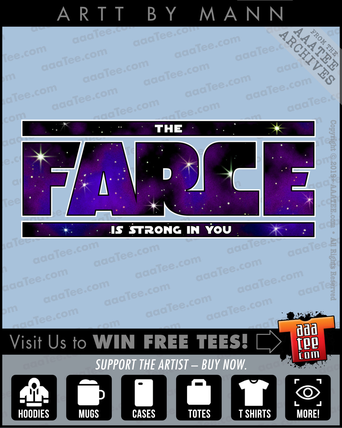 star wars shirts for women - THE FARCE is STRONG in YOU!