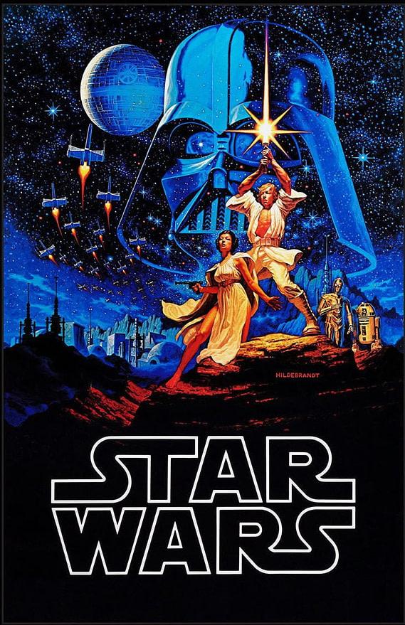 star wars movie poster brothers hildebrandt