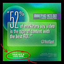 Social Media Memes -FREE- 2021 Digital Video Marketing Stats – Stunning! 14