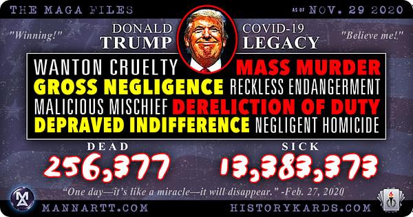 The #MAGAfiles – Trump, Covid and 500,000 Dead? 4