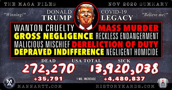 The #MAGAfiles – Trump, Covid and 500,000 Dead? 3